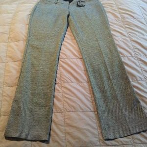 NWT Express Columnist Barely Boot Mid Rise Pants 1